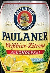 Paulaner Weissbier zitrone 0 procent