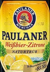 Paulaner Weissbier-Zitrone