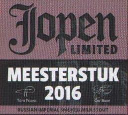 Jopen Meesterstuk 2016