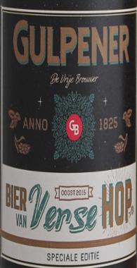 Gulpener Bier van Verse Hop etiket