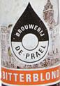 Bitterblond brouwerij de Prael