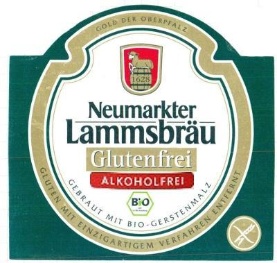 Neumarkter Lammsbräu Glutenfrei Alcoholfrei
