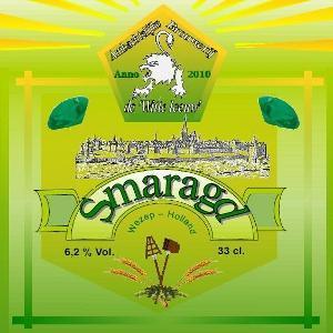 Smaragd van brouwerij de Witte Leeuw