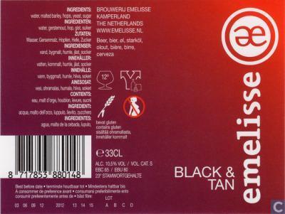 Black & Tan Emelisse