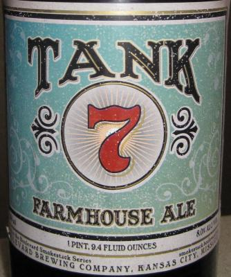 Tank 7 etiket