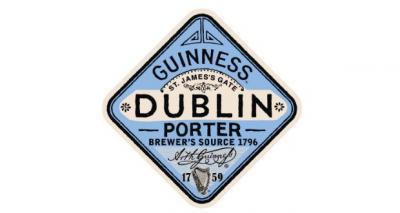 Guinness Dublin Porter Etiket