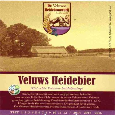 Veluws Heidebier etiket