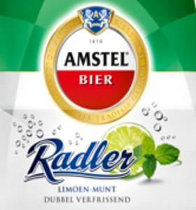 Amstel Radler Limoen Munt etiket