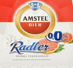 Amstel Radler Grapefruit alcoholvrij