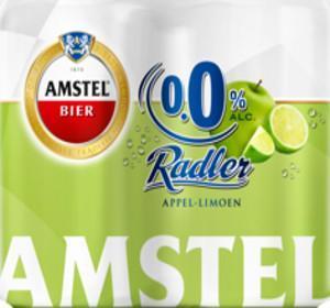 Amstel Radler Appel Limoen alcoholvrij etiket