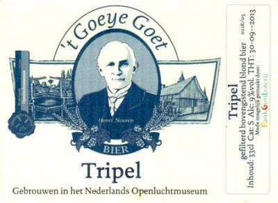 't Goeye Goet Tripel