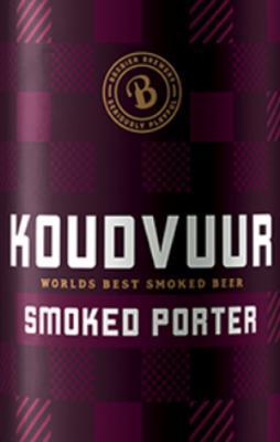 koudvuur smoked porter van Bax bier