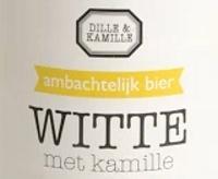 Dille en Kamille Witte met kamille logo