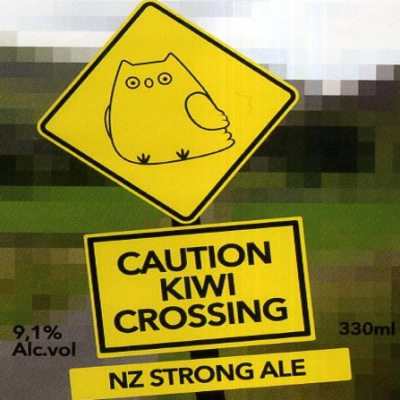 Caution Kiwi Crossing!