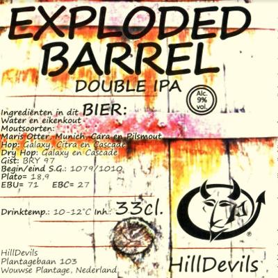 Exploded Barrel Double IPA