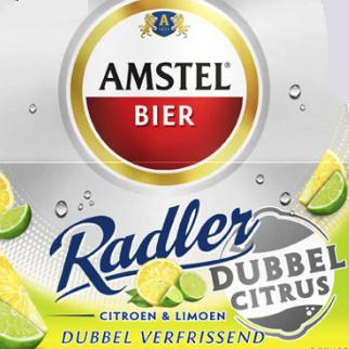 Amstel Radler Dubbel Citrus logo