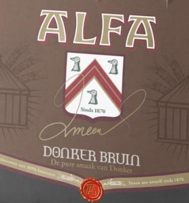Alfa Oud Bruin logo