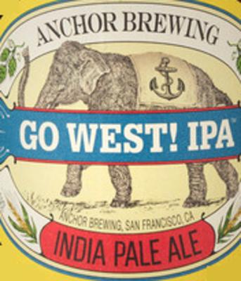 Anchor Go West! IPA logo
