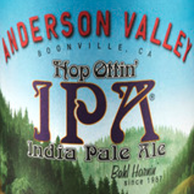 Anderson Valley Hop Ottin ipa India Pale Ale logo
