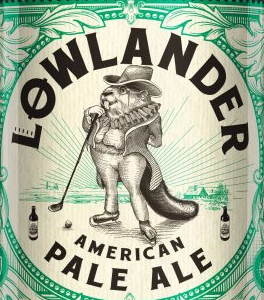 Lowlander American Pale Ale logo