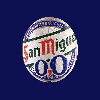 San Miguel 0.0 logo