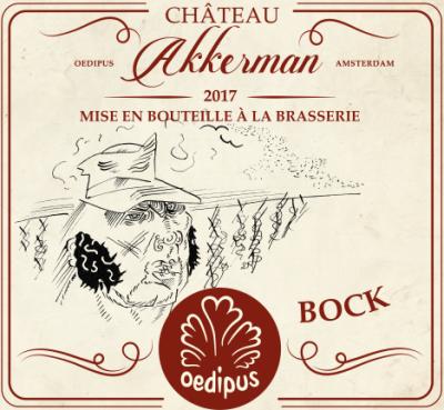 Chateau Akkerman van Oedipus: één van de drie etiketten