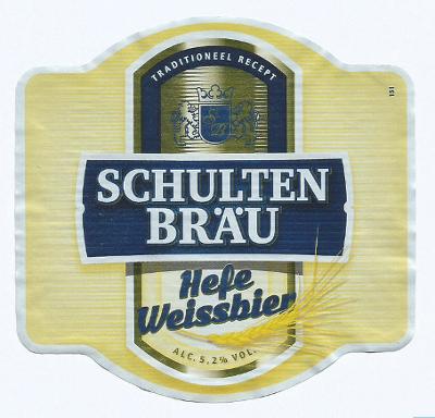 Schultenbrau Hefe Weissbier