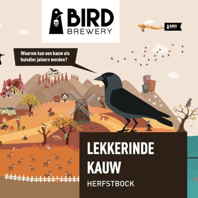 Bird Brewery Lekkerinde Kauw logo