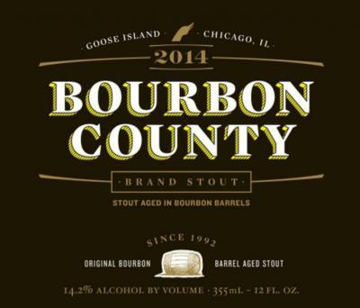Goose Bourbon County Brand Stout