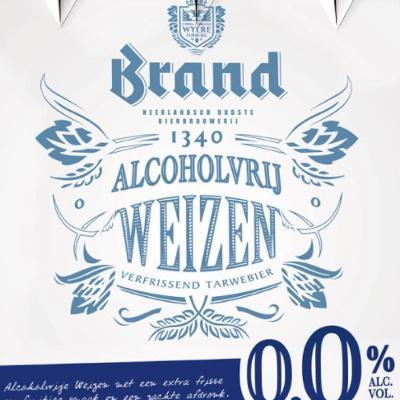 Brand Weizen 0.0 logo