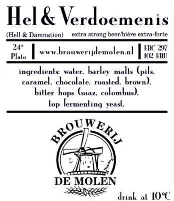 Molen Hel & Verdoemenis etiket
