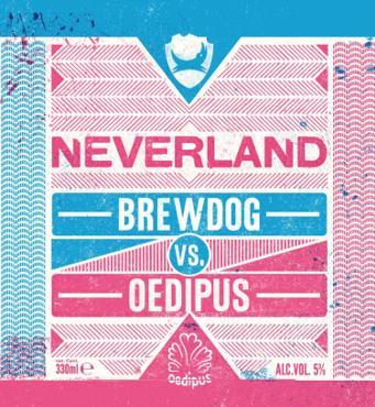 Neverland van Oedipus en BrewDog