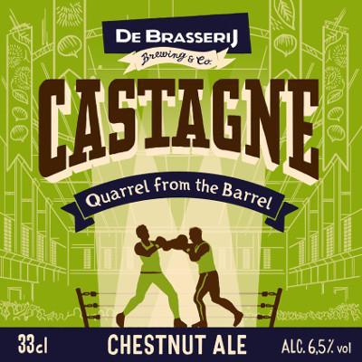 Castagne | blond bier van brouwerij de Brasserij
