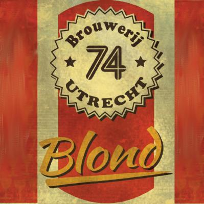 74 Blond logo