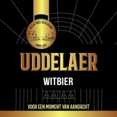 Uddelaer Witbier Logo