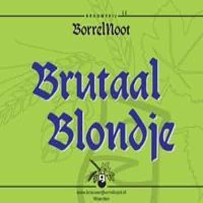 Brutaal Blondje logo
