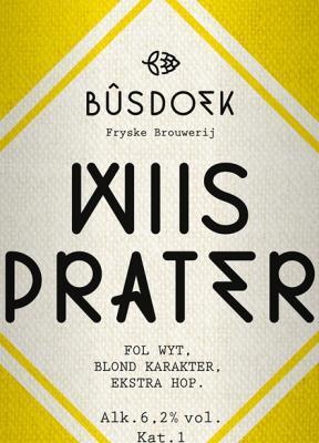 Wiisprater bier logo