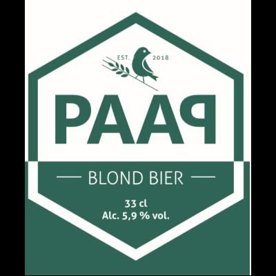 Logo PAAP Blond PAAP Bier Broeders