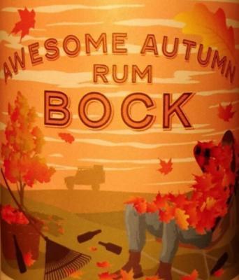 Logo van het bier Awesome Autumn Rum Bock van brouwerij Hoop