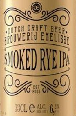 logo van Emelisse smoked rye ipa