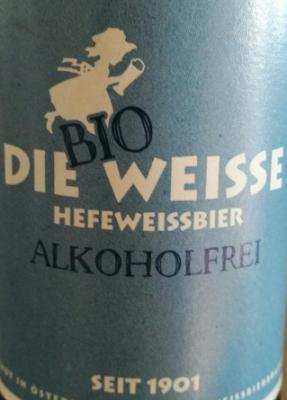 die Bio Weisse Alkoholfrei Logo