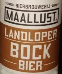 Maallust Landloper Bockbier logo