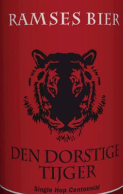 ramses bier den dorstige tijger logo