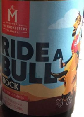 ride a bull brouwerij musketeers