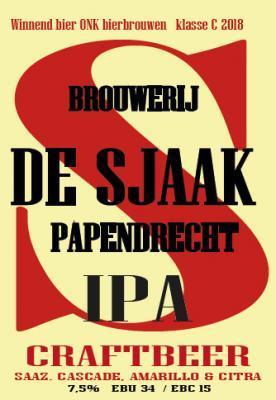 de sjaak IPA logo