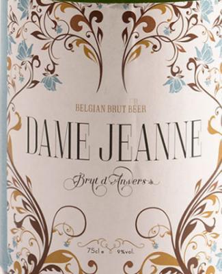Brut D'anvers, Champagnebier van Dame Jeanne uit België
