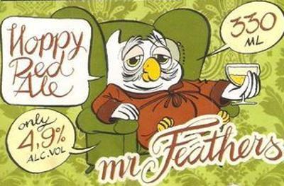 Mr Feathers speciaalbier logo