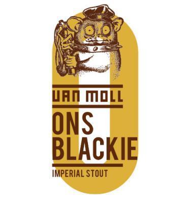 van moll ons blackie bier logo