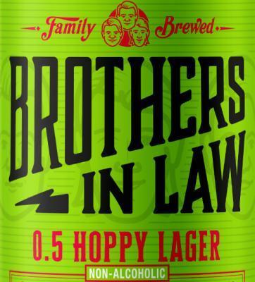 Hoppy Lager met weinig alcohol
