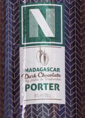 chocolade porter madagascar van brouwerij Noordt